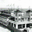 An old building and marina that used to be in what is now Bayside, Downtown, Miami. It was built in the early 1920s and was destroyed by a Hurricane in 1926.